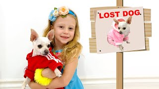 Nastya lost her dog and other stories for kids