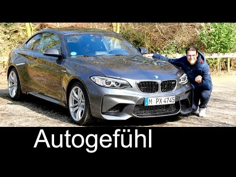 BMW M2 Coupé FULL REVIEW test driven 2-Series 2er 370 hp with Autobahn Performance - Autogefühl