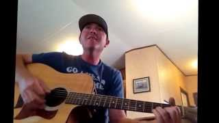 Shut up and dance Aaron Watson cover by Travis Bussey