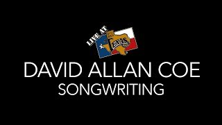 David Allan Coe - Songwriting [A Live at Billy Bob's Texas Short]
