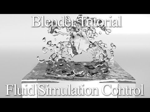 Download Blender Fluid Simulation Tutorial The Control