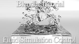 fluid on blender