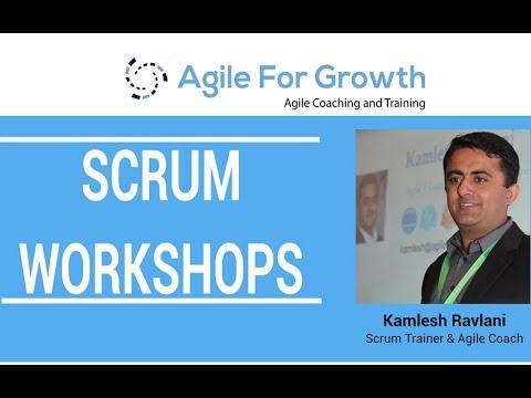 Scrum, Agile Workshops by Kamlesh Ravlani - YouTube
