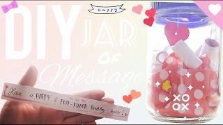 DIY Simple Gift - Message in a jar