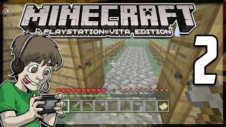 Minecraft PS Vita - MY HOUSE - Part 2 (PS Vita Minecraft Gameplay)