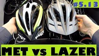 Met Veleno XC vs. Lazer Oasiz Lopes All Mountain bike helmet. Review.