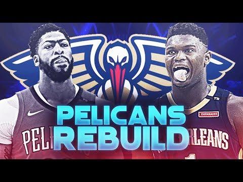 Anthony Davis Traded! Zion Williamson New Orleans Pelicans Rebuild | NBA 2K19