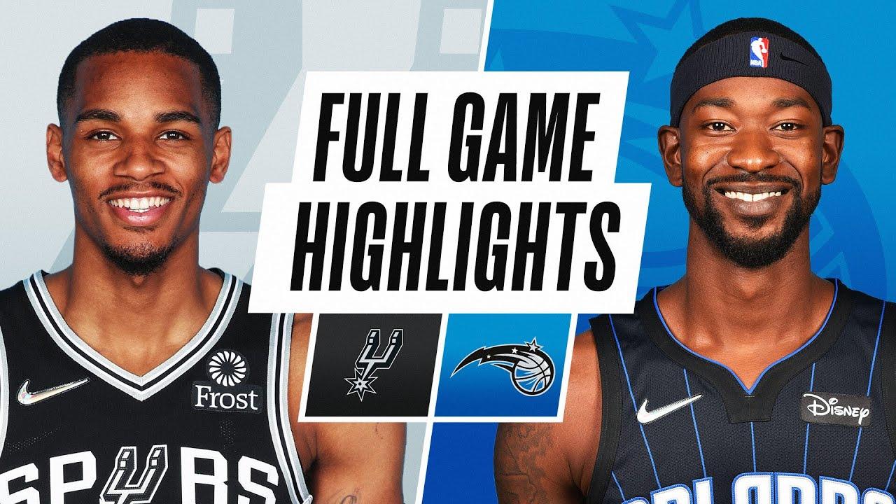 SPURS at MAGIC | NBA PRESEASON FULL GAME HIGHLIGHTS | October 10, 2021
