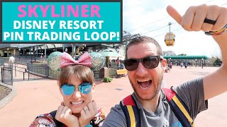Disney Skyliner Resort Pin Trading Route | Come Trade With Us!