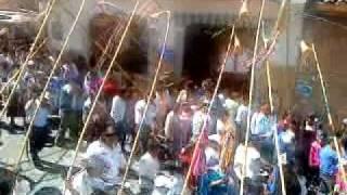 preview picture of video 'TARIJA, TIERRA BENDITA. FIESTA GRANDE: SAN ROQUE. CAÑA, CAMACHEÑA, QUENILLA, TAMBOR Y FLECHA'