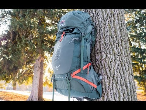 Osprey Atmos 65 AG EX Pack – Hands on Review
