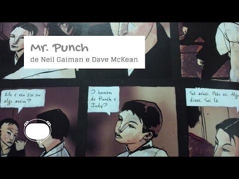 Mr. Punch, de Neil Gaiman e Dave McKean - Odisseia Sem Espaço