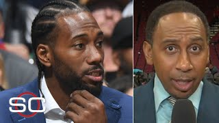 Clippers fans don't care about Kawhi's load management – Stephen A. | SportsCenter