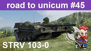 Strv 103-0 Unicum Review/Guide, Bouncing AP Shells Like a Boss