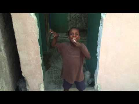 Haiti 14 boys showers