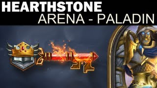 Hearthstone - Arena Run #4 - Paladin - Deck Building / Game 1 (Feat. FAIRY TALE START)