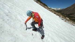 Alpine & Mountaineering: 15. Snow Anchors - Using your Ice Axe | Climbing Tech Tips