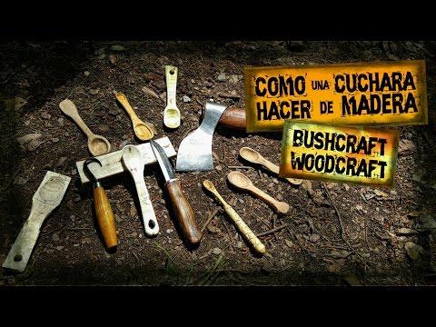 Como Hacer Una Cuchara de Madera Bushcraft | Wood Carving Spoon Bushcraft