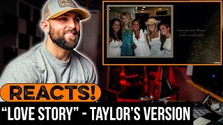 """MUSICIAN REACTS to TAYLOR SWIFT - """"Love Story"""" (Taylor's Version)"""