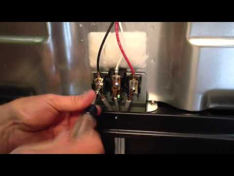 How to hook up a 3 or 4 wire electric range cord By How-to Bob