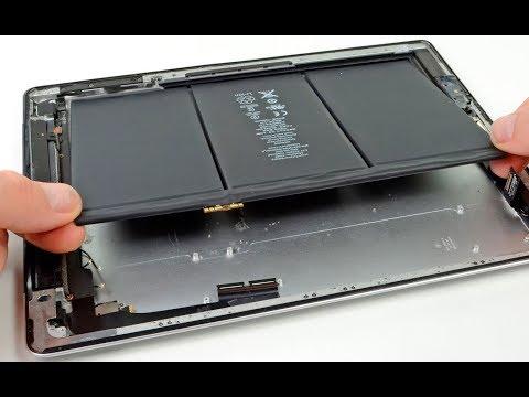 Ремонт iPad - замена аккумулятора/батареи (разборка/сборка)