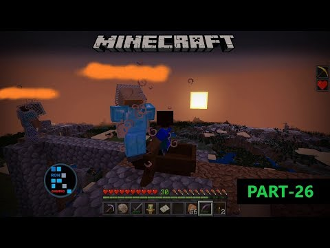 MINECRAFT GAMEPLAY | FUNNY RACE TO THE SKY & JUMPING OFF FROM HIGHEST PLACE#26