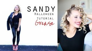 Sandy From Grease | Hair Tutorial + Costume
