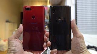 Vivo X21 UD Vs. Oppo R15 Pro Camera Comparison