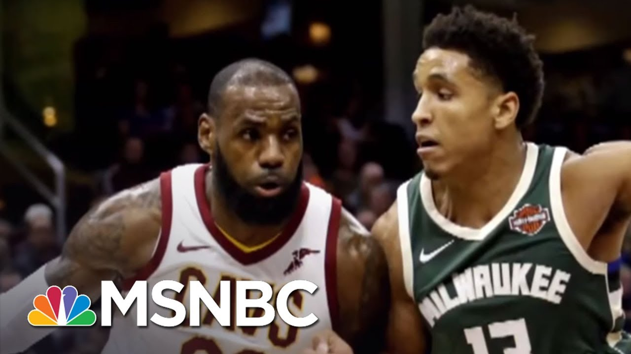 LeBron James On Laura Ingraham: 'I Had No Idea Who She Is' | AM Joy | MSNBC thumbnail
