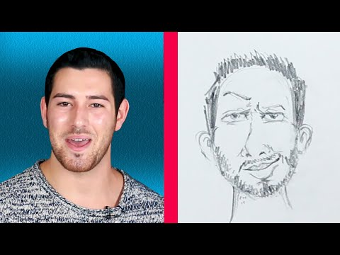 Men Describe Themselves To An Illustrator