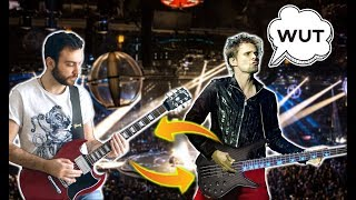Gambar cover Muse - Hysteria BUT Bass And Guitar Are Swapped!