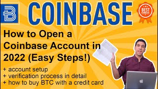 How to open coinbase account