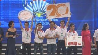 Tin Tức 24h: Bế mạc vòng chung kết Robocon Việt Nam năm 2017