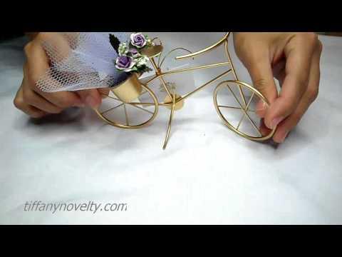 Video Vintage Bike - Souvenirs & Party favors for wedding or debut