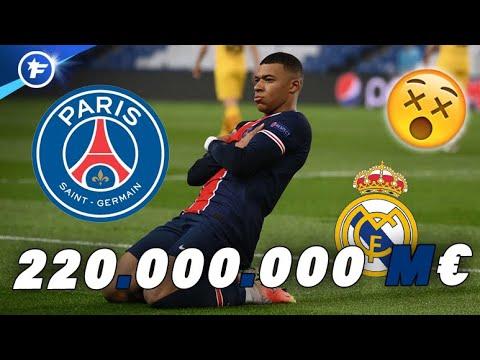 Le PSG fixe le prix de départ de Kylian Mbappé à 220 M€   Revue de presse