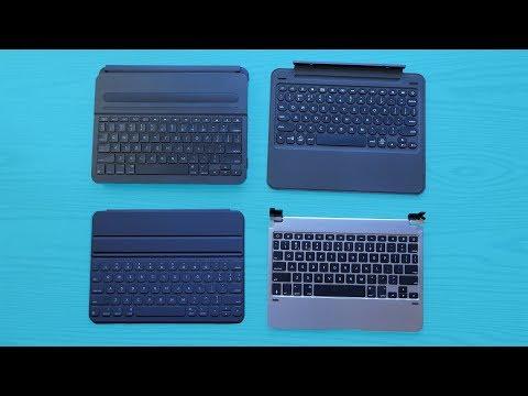 What's the Best iPad Pro Keyboard? BRYDGE vs ZAGG vs Apple vs Logitech!