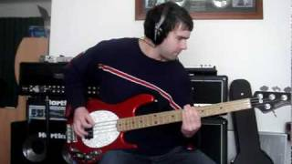 30 seconds to mars - 93 million miles - bass cover