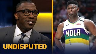 Shannon Sharpe is excited to see Zion vs LeBron faceoff tonight | NBA | UNDISPUTED