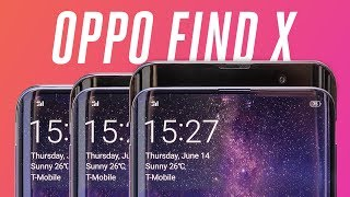 Oppo Find X: 3 pop-up cameras, no notch