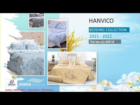Giới thiệu bộ sưu tập chăn ga gối Hanvico 2021 – 2022