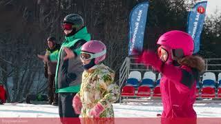 #100секунд. Тренировка юных горнолыжников