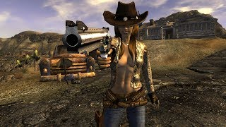 Fallout: New Vegas - КОВБОЙ. Билд через пистолеты, криты и V.A.T.S.