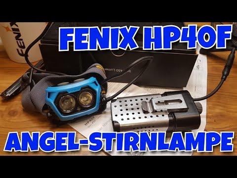 ✔ FENIX HP40F ☆ ANGEL-STIRNLAMPE mit blauem Licht ☆ UNDERWATER SUNLIGHT 4 FISHING