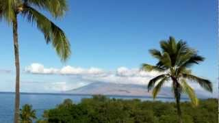 preview picture of video 'Maui Hotel Makena Beach and Golf Resort View to Puu Kukui'