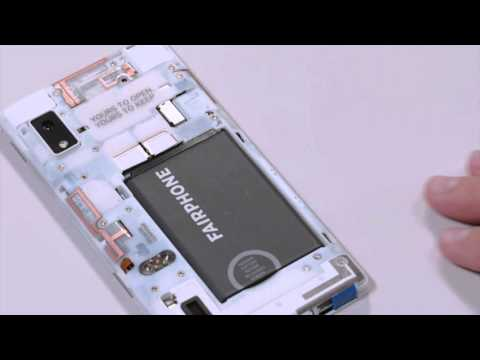 "Fairphone 2 (32Go, indigo, 5"", Double SIM hybride, 12Mpx, 4G)"