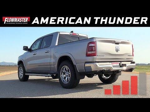 2019 RAM 1500 5.7L Hemi - American Thunder Cat-back Exhaust 817843
