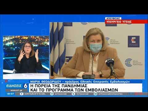 Θεοδωρίδου: Nα μην παραμελούνται τα εμβόλια που δεν αφορούν τον κορονοϊό ΕΡΤ 22/02/2021