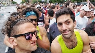 BROOKLYN HALF MARATHON! WHO WON????