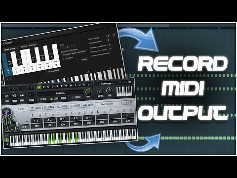Download How To Record Midi Output From Any Scale Chord Vst