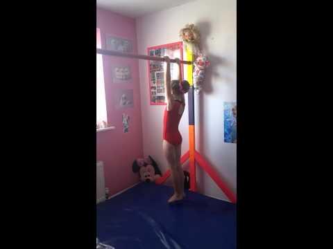 Practicing Gymnastics at home